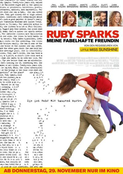 Ruby Sparks - Plakat