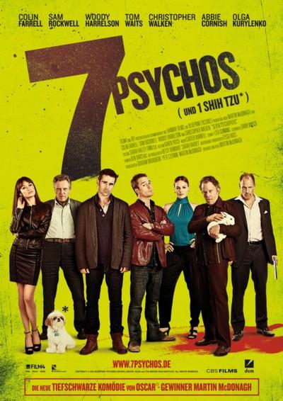 7 Psychos - Plakat4