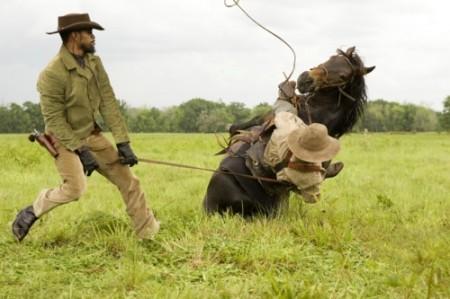 Jamie Foxx und noch (?) ein Pferd (Bild: Sony Pictures)