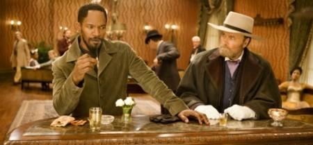 """Jamie Foxx und """"Django"""", äh Franco Nero (Bild: Sony Pictures)"""