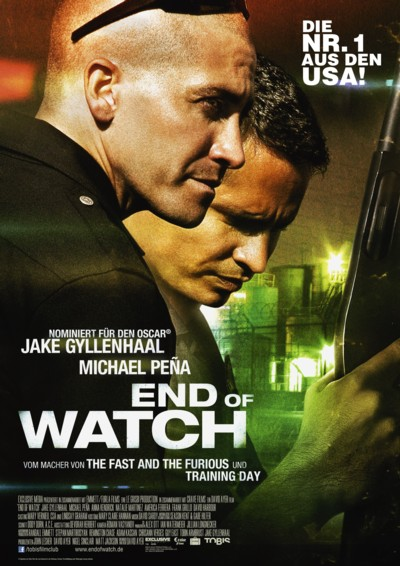 End of Watch - Plakat4