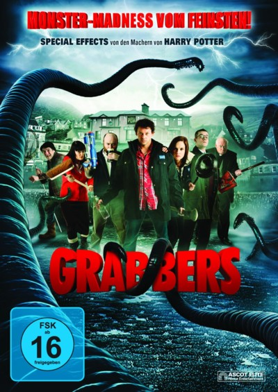 Grabbers - DVD-Cover