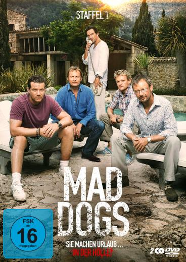 Mad Dogs - Staffel 1 - DVD-Cover