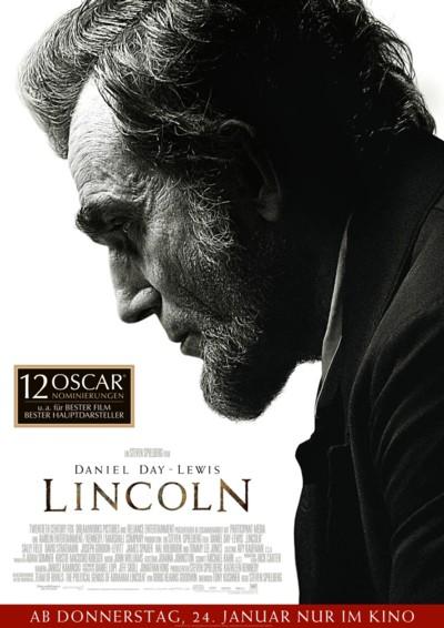 Lincoln - Plakat mit Oscar