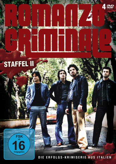Romanzo Criminale - Staffel 2 - DVD-Cover