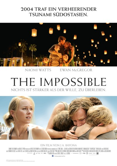 The Impossible - Plakat