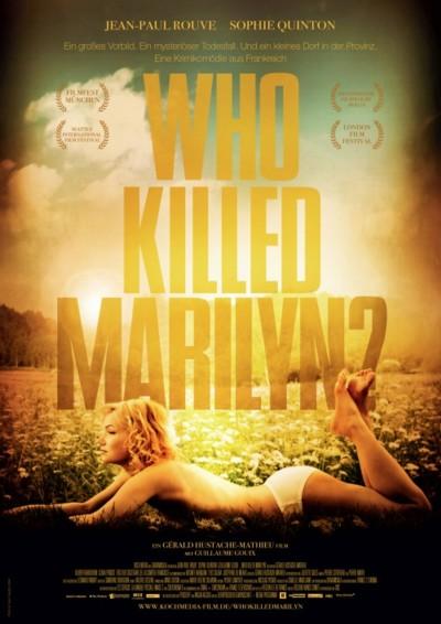 Who killed Marilyn - Plakat