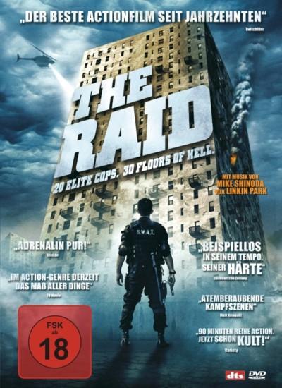 The Raid - DVD-Cover