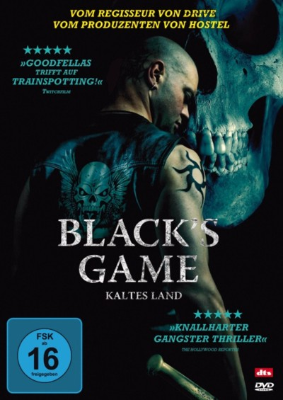 Black's Game - DVD-Cover