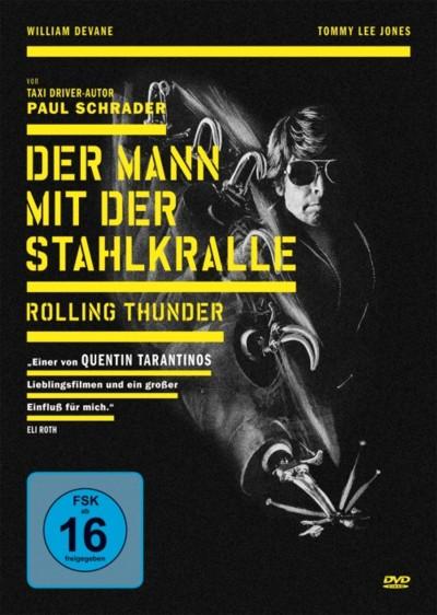 Der Mann mit der Stahlkralle - DVD-Cover