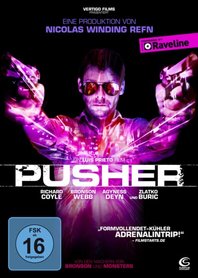 Pusher - DVD-Cover