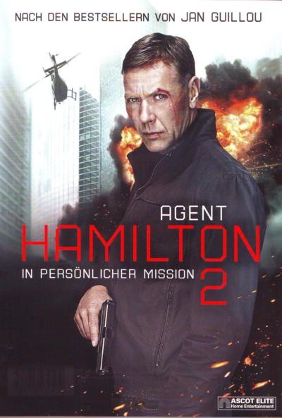 Agent Hamilton 2 - DVD-Cover
