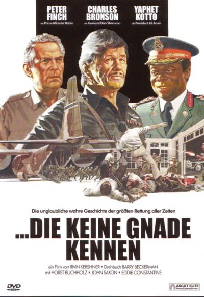 Die keine Gnade kennen - DVD-Cover