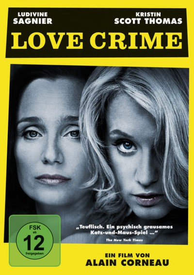 Love Crime - DVD-Cover
