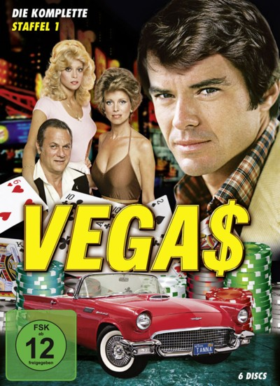 Vegas - Staffel 1 - DVD-Cover
