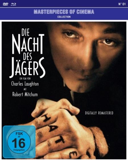 Die Nacht des Jägers - DVD-Cover