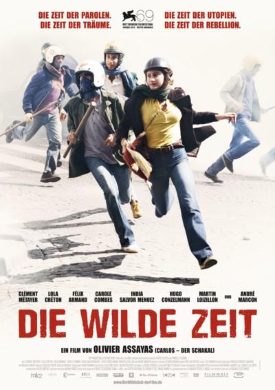 Die wilde Zeit - Plakat