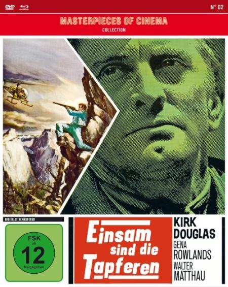 Einsam sind die Tapferen - DVD-Cover