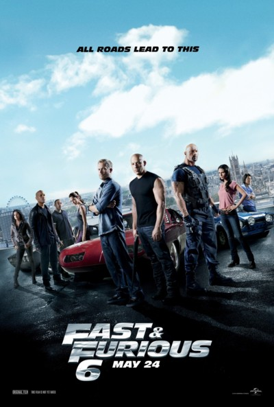 Fast and Furious Six - Plakat