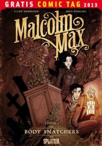 Gratis-Comic-Tag 2013 - Malcolm Max