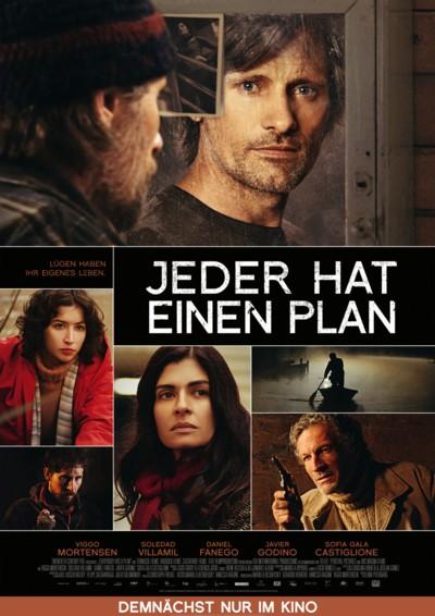 Jeder hat einen Plan - Plakat