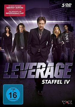 Leverage - Staffel 4 - DVD-Cover
