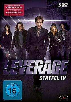Leverage - Staffel 4 - DVD-Cover