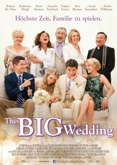 The Big Wedding - Plakat