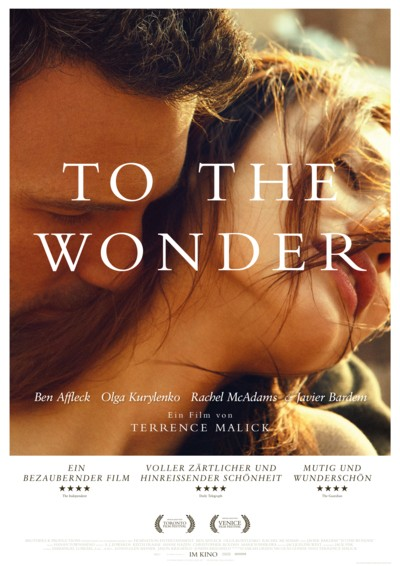 To the Wonder - Plakat