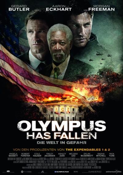 Olympus has fallen - Plakat