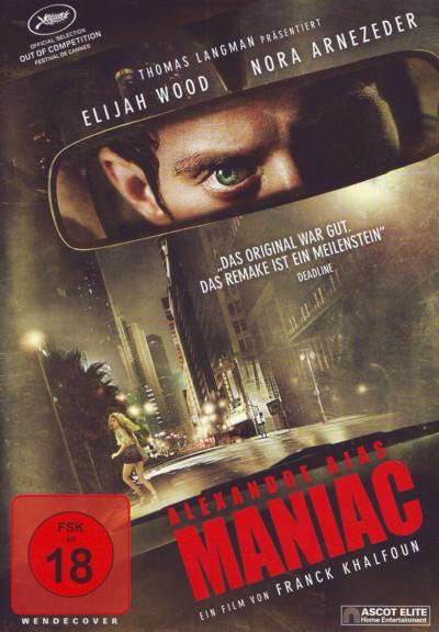 Alexandre Ajas Maniac - DVD-Cover