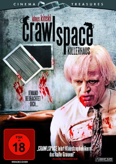 Crawlspace - DVD-Cover