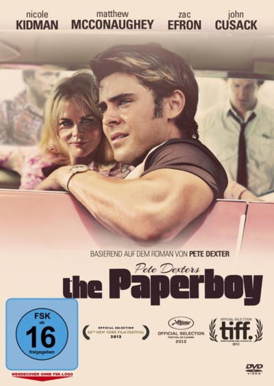 The Paperboy - DVD-Cover