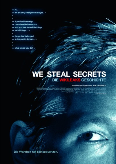 We steal secrets - Plakat