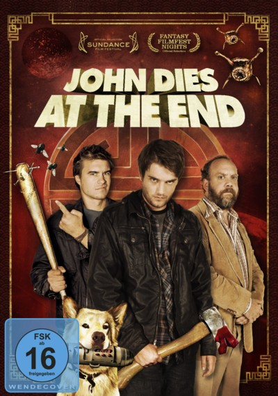 John dies at the End - DVD-Cover