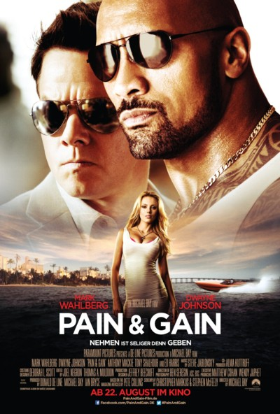 Pain and Gain - Plakat