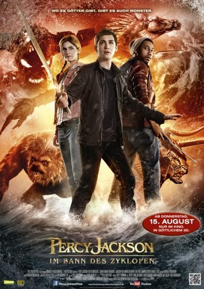 Percy Jackson 2 - Plakat