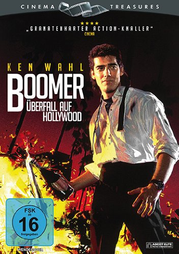 Boomer - Überfall auf Hollywood - DVD-Cover