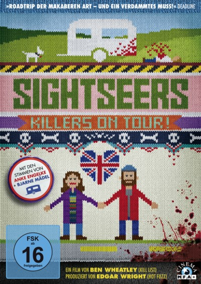 Sightseers - DVD-Cover