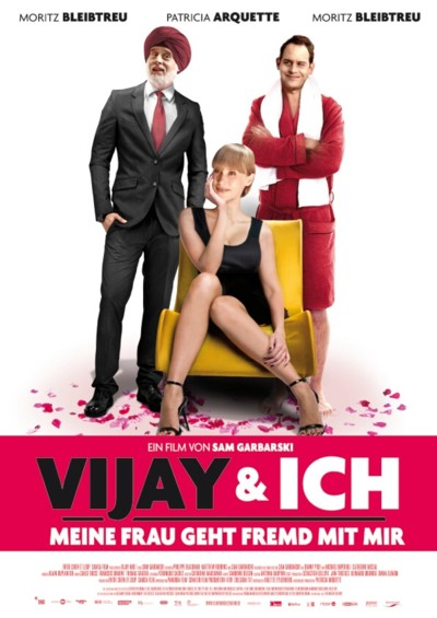 Vijay und ich - Plakat