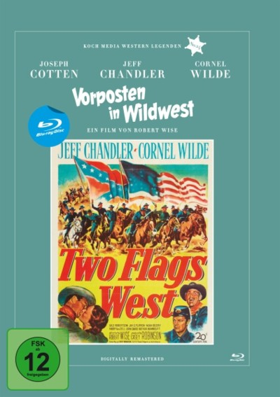 Vorposten in Wildwest - Blu-ray-Cover