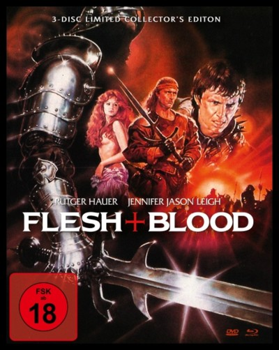 Flesh and Blood - DVD-Cover Limited Edition