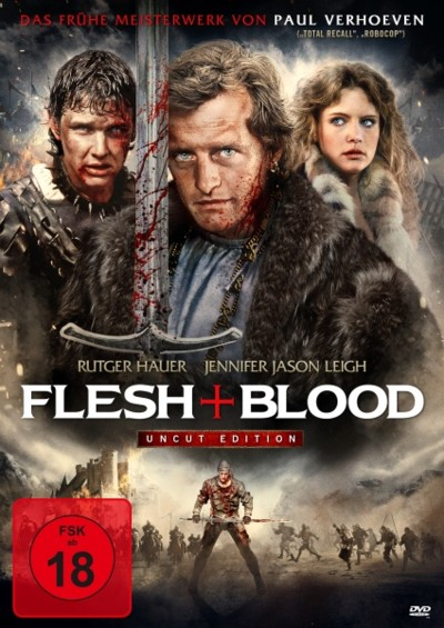Flesh and Blood - DVD-Cover