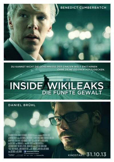 Inside Wikileaks - Plakat