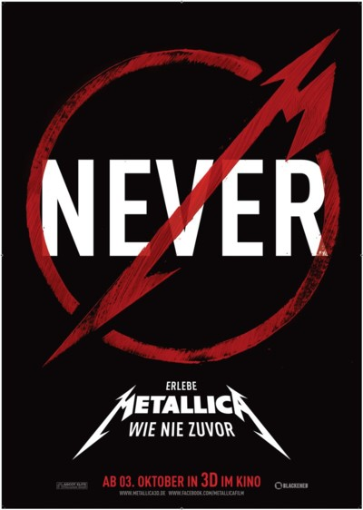 Metallica Through the Never - Plakat