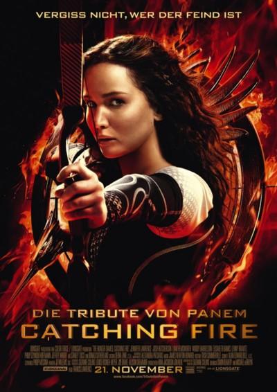 Die Tribute von Panem - Catching Fire - Plakat