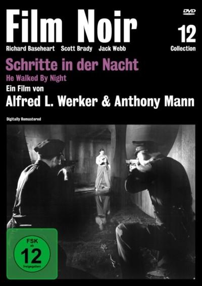 Schritte in der Nacht - DVD-Cover