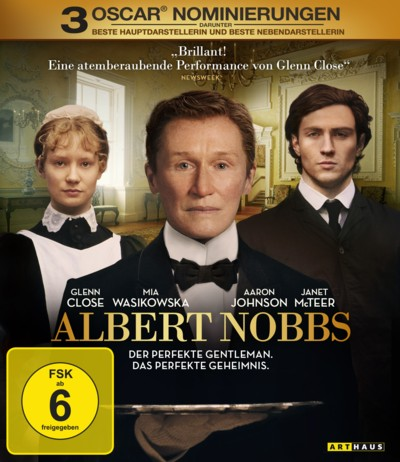 Albert Nobbs - DVD-Cover - 4