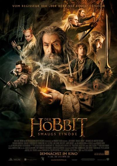 Der Hobbit - Smaugs Einöde - Plakat