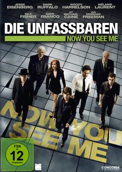Die Unfassbaren - DVD-Cover